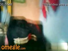 Twink Arab boy is flashing his nice-looking cock