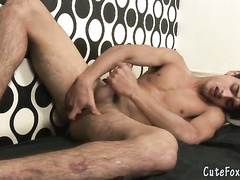 The masturbation goes too hot and too exciting