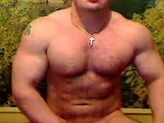 Young bodybuilder twink is showing off his hot body and asshole