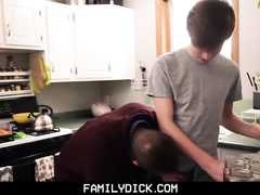 Hungry hunk covets to adorable teen gay nephew and fucks him