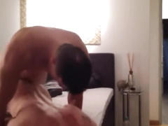 College gay dude fucks high school twink in doggy pose